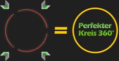 perfekter Kreis